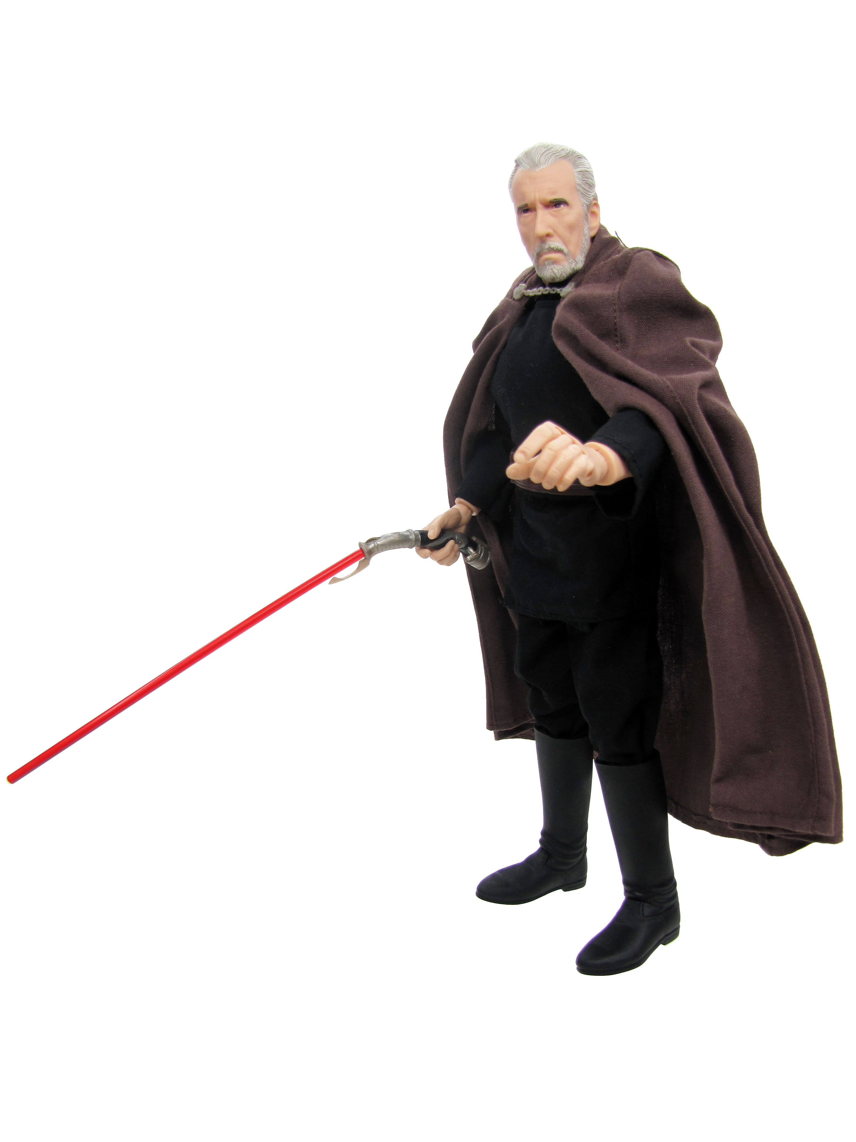 "2002 Star Wars Saga 12"" COUNT DOOKU Complete"